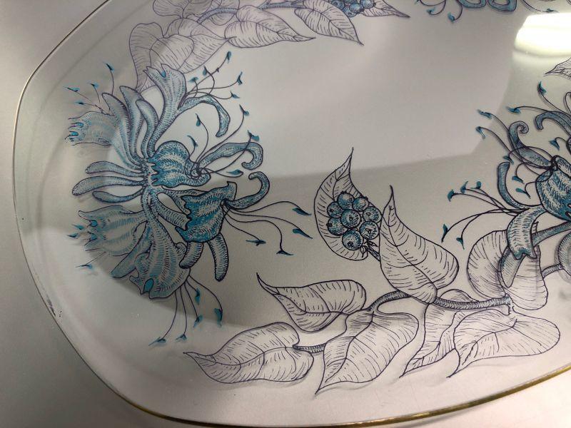 画像2: Chance Glass  チャンスガラス ハニーサックル ガラスプレート (大サイズ)